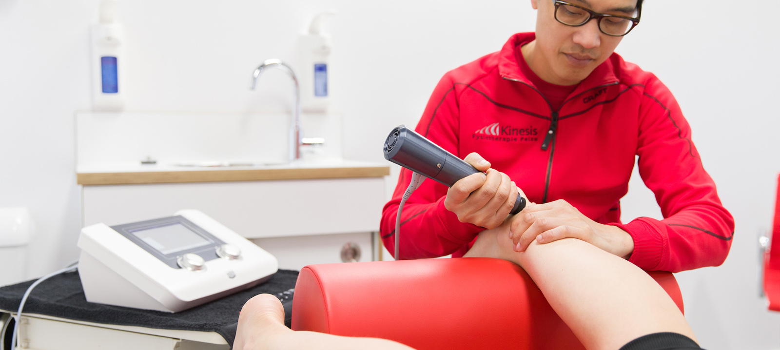 Over shockwave therapie bij Podozorg Peize